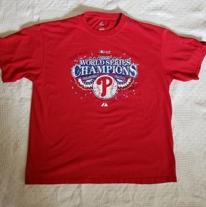 Philadelphia Phillies 2008 world series T-shirt